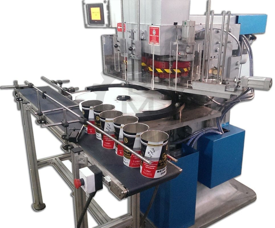Double Head Fully Automatic Seamer, Double head seaming machine, double seamer, Can Seamer, Can Seaming machine