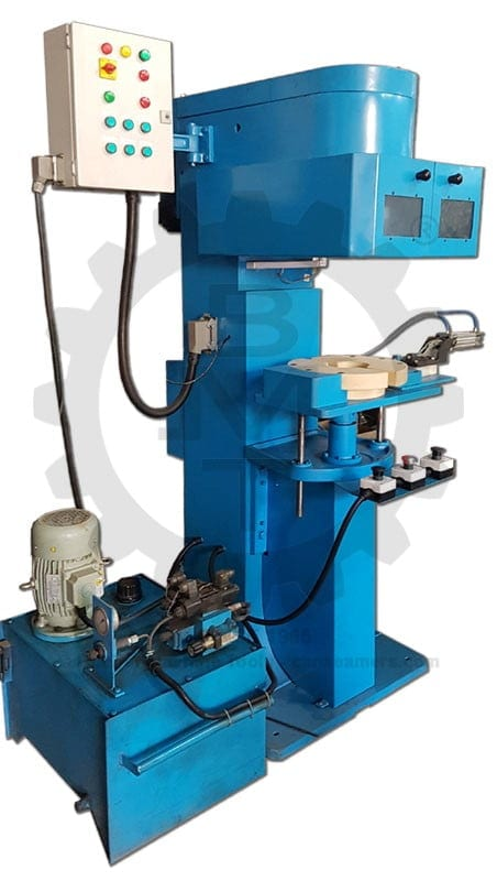 Filter Seamer, Inward Filter Seamer, Inward Filter Seaming, Filter Curling, Filter Beading, Hydraulic Spin-on Filters
