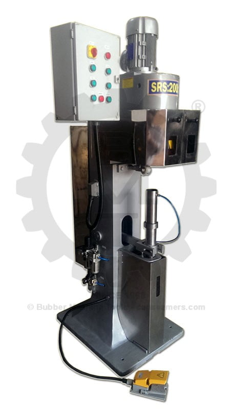 Vacuum Seaming Machine, Nitrogen Seaming machine, Vacuum Seamer