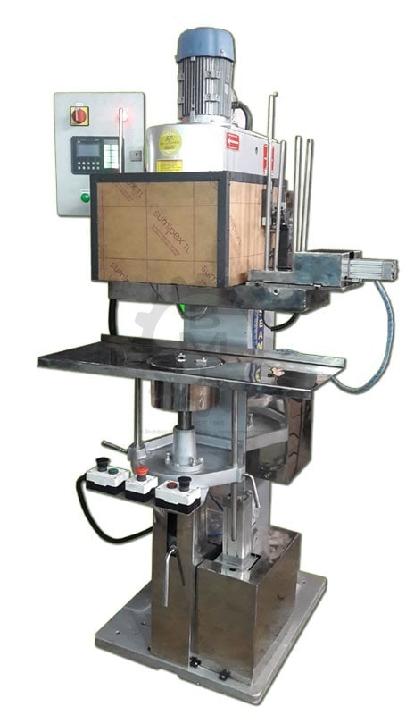 tin sealing machine, tin sealer, can sealer, can seamer, round tin sealing, beer tin sealer, food canning